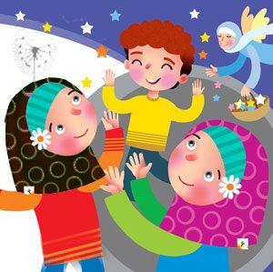 نمایشنامه کودکانه بچه ها و فرشته مهربون